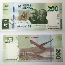 🇲🇽$200 Mexican Pesos Crisp Uncirculated 2018 Pick P-131a.5 Mexico World Money