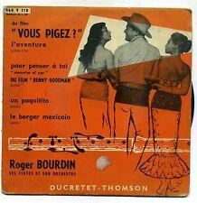 """B.O.F """" VOUS PIGEZ """"  EP DUCRETET 460 V 218 - JEAN MARION"""