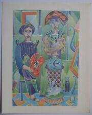 Sarres Alexandre 2 lithographs hand signed 68 num/50 2 handsigned lithographs