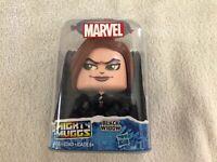 Mighty Muggs ~ BLACK WIDOW FIGURE ~ Hasbro Marvel Avengers