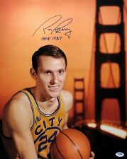 100% True Rick Barry Single Signed Baseball Auto Autograph Jsa Coa Gs Warriors Nba Hof Balls