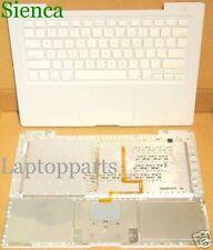 "Genuine Macbook A1181 A1185 13"" Laptop Top Case Palmrest Keyboard White KY81"