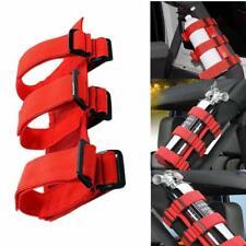 Adjustable Roll Bar Fire Extinguisher Mount Holder Strap For Wrangler Jk Tj Jl