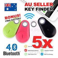5X Bluetooth iTag Tracker Child Pet Bag Wallet Key Finder GPS Locator Alarm Tag