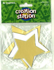 Silver & Gold stars Pack of 18  CS6440