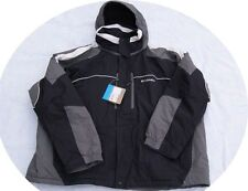 Men Columbia Ski Jacket Winter Coat LT Large Tall Black