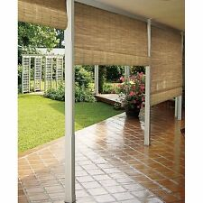 Bamboo Window Blinds Reed Woven Wood Roll Up Outdoor Shade Sun Shade Patio Porch
