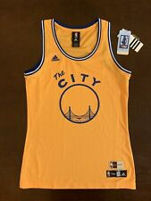 5f54441d6 Adidas HWC NBA 4her Golden State Warriors Basketball Jersey Women s M