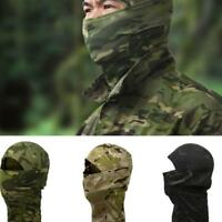 Tactical Bionic Camouflage Full Face Mask Scarf Balaclava Hat Camo Windproof