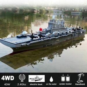 1:350 Scale Remote Control Warship Battleship Boats Large Rc Ship Electric Simul