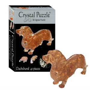 NEW Kinato 3D Dachshund Crystal Puzzle | FREE Shipping