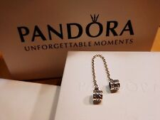Pandora Genuine Silver Floral Safety Chain 【AU Stock】Item 790385