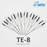 Tooth Extraction Elevators Kit Dental Minimally Invasive Forceps Stainless Steel