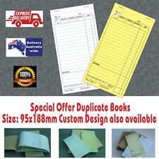 Wholesale LARGE Restaurant Docket Books. Carbonless Duplicate Fast Delivery Aus