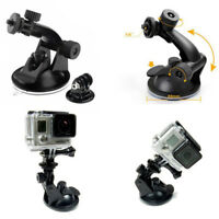 Car Suction Cup Camera Mount Windshield DVR Holders for Sjcam Sj4000 Xiaomi Yi