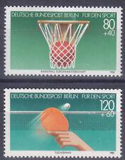 Berlin 732/33 ** Sporthilfe 1985, postfrisch