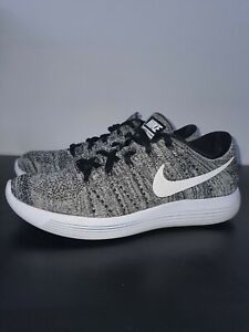 NIKE LUNAREPIC FLYKNIT FEMME TAILLE 40,5 GRISE