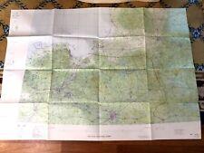 Polish Military Map Pilot Navigational Chart RAF Poland Sweden Soviet Union