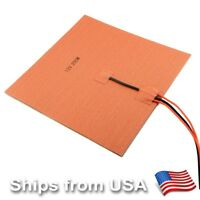[Gulfcoast Robotics] 12V/24V Silicone Heater Pad 200W for Heated Bed 3D Printers