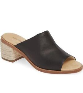 NEW Women's SOLUDOS Capri Leather Mule *Black Sizes: 5 - 11