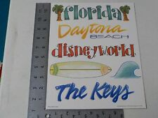 ALL MY MEMORIES FLORIDA DISNEY WORLD DAYTONA SCRAPBOOKING TOPPERS NEW A2114
