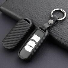 Durable Carbon Fiber Protector Holder For Mazda 2 3 6 CX-3 CX-5 Smart Car Key