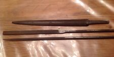 Vintage Watchmakers FL Grobet Precision Swiss And 2 Bedford English File Tool