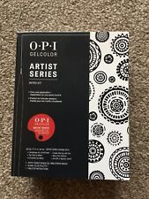 Opi Gel colour Artist Series Intro Kit Nail Art Bnib nEW