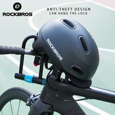 ROCKBROS Bike Helmets Breathable Shockproof Helmet Adjustable Hat with Taillight