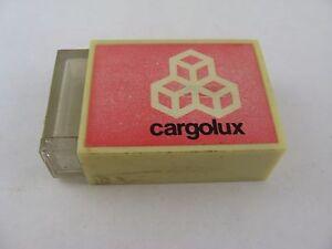 Rare Vintage CARGOLUX Gas Match Lighter Advertising