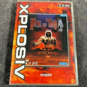 The House Of The Dead PC Game Boxed CD-Rom SEGA Zombie Shooter