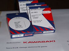 Kawasaki H1 original Keyster Carburetor repair kits, enough for three carbs!