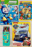 PAW PATROL Funtivity, Doggie Divers Coloring Activity Book, Crayons, Maze Book