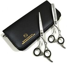 """6"""" Salon Professional Barber Haircutting Scissors Hairdressing Thinning Set"""