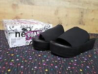 Brash 173620 WINKY Black Platform Women's Heels Shoes Size 6.5 NWB