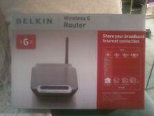 Belkin Wireless G Router F5D7230-4 Wireless router 4-port switch - 802.11b/g.
