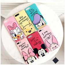 Cartoon Mouse Duck Piglet Winnie Bear Soft Phone Case For iPhone X 6s 7 8 Plus
