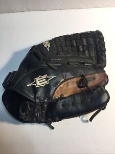 "Easton Black Magic BX1250B Leather Baseball Glove RHT 12.5"" Black Brown Good!!"
