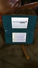 Nintendo DSi SKY Blue Handheld System Console and 8 Game Lot Plus bag