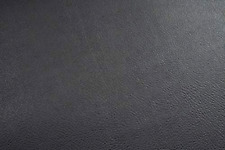 Ebony Black Vinyl Upholstery Fabric Durable Grade Vinyl Fabric by the Yard