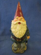 Rien Poortvliet Classic David the Gnome, Gnome with Hatchet, Original, Nice Gift