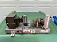 Zenith 3H32 Tube Amplifier EL84 5U4GB Amp Good Condition for Rebuild w/ Tubes!