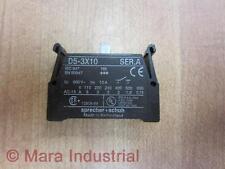 Sprecher + Schuh D5-3X10 Contact Block D53X10 (Pack of 6) - New No Box