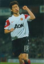 Ji-Sun PARK Signed Autograph 12x8 Photo AFTAL COA Manchester United PSV QPR