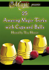 Cups & Balls How to Preform Oldest Magic Trick Tricks Book