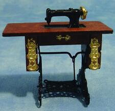 1/12th Scale Dolls House Sewing Machine With Table