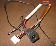 DC POWER JACK w/ CABLE TOSHIBA SATELLITE P300 P300D P305 P305D CHARGE PLUG PORT