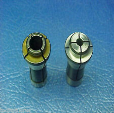 "2PC 1/4 TO 1/8"" & 1/4"" TO 1/4"" COLLET ADAPTOR FITS 1/4"" DIE GRINDER TOOLS ANGLE"