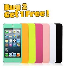 Apple iPhone 5 5s Multi Color Soft Sillicone Gel Case Cover Buy 2 Get 1 Free