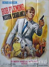 KILLERS ARE CHALLENGED - 007 - SPY - CASABLANCA - ORIGINAL LARGE MOVIE POSTER